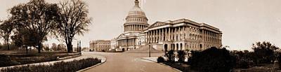 Washington D.c Drawing - The Capitol, Washington, D.c, Jackson, William Henry by Litz Collection
