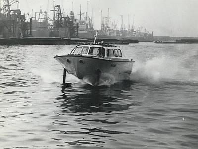 The �captain�s Barge� - 1963 Version Art Print by Retro Images Archive
