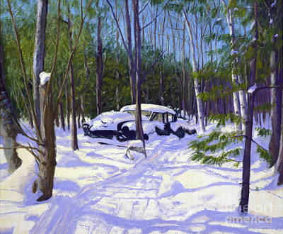 George W. Bush Painting - The Car by Candace Lovely
