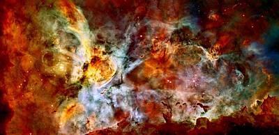 The Carina Nebula Art Print by Amanda Struz