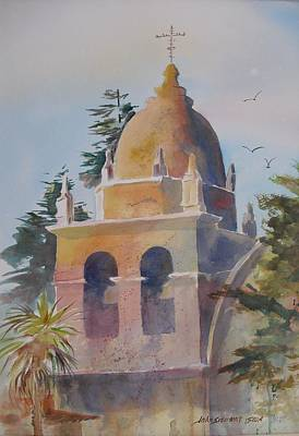 The Carmel Mission Art Print