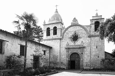 Photograph - The Carmel Mission by Priya Ghose