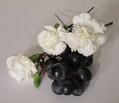Photograph - The Carnation Bunch by Good Taste Art