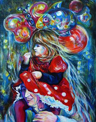 The Carnival Little Princess Art Print