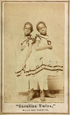 The Carolina Twins, C1866 Art Print by Granger