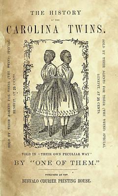 The Carolina Twins, C1869 Art Print by Granger