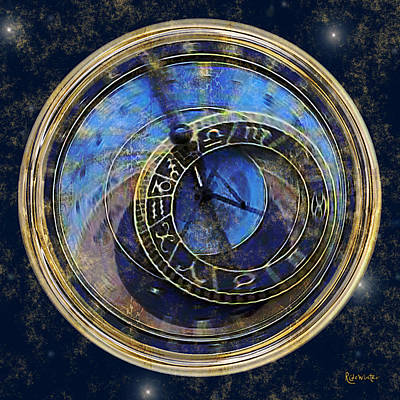 The Carousel Of Time Art Print by RC deWinter