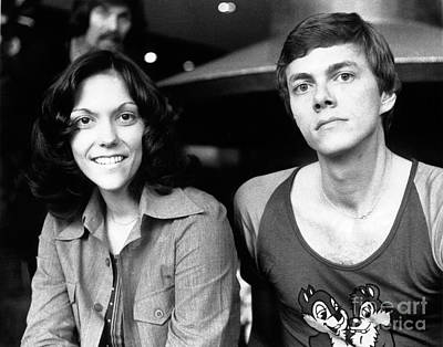 Photograph - The Carpenters 1972 by Chris Walter