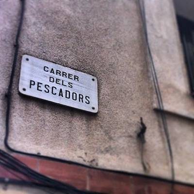 Politicians Wall Art - Photograph - The #carrer #pescadors Is Famous As A by Rich Butler