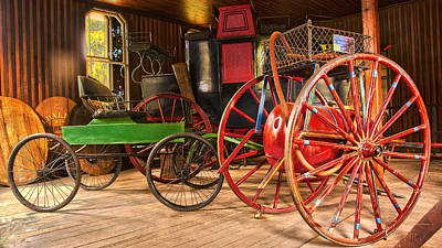 Photograph - The Carriages  by Richard J Cassato