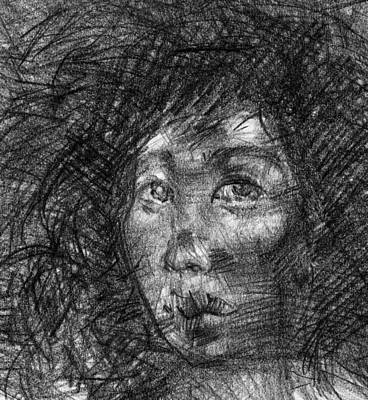 Messy Drawing - The Case For Eve by Mick Donnelly