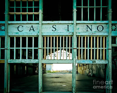 Abandoned Homes Photograph - The Casino by Colleen Kammerer
