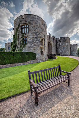 Photograph - The Castle Bench by Adrian Evans