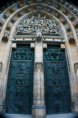 Photograph - The Castle Doors by Jon Emery