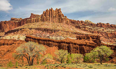 Photograph - The Castle In Capitol Reef National Park by Pierre Leclerc Photography