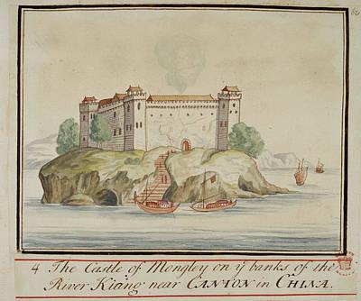 The Castle Of Mongley Art Print