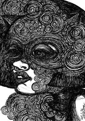 The Cat Mask Original by Akiko Okabe