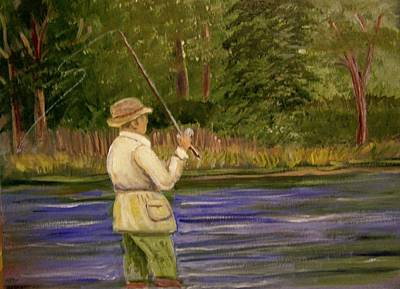 Painting - The Catch by Belinda Lawson