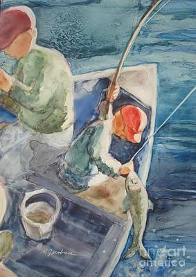 Painting - The Catch by Marilyn Jacobson