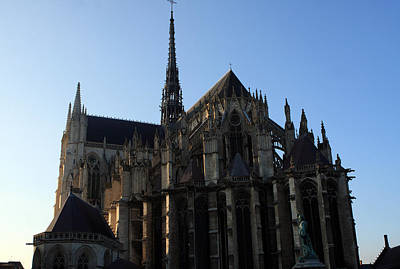 Somme Photograph - The Cathedral Basilica Of Our Lady Of Amiens by Aidan Moran