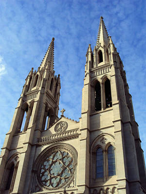 Photograph - The Cathedral Basilica Of The Immaculate Conception 4 by Angelina Vick