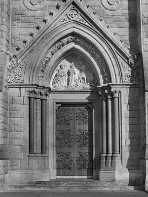 Relating Photograph - The Cathedral Door by Mike McGlothlen