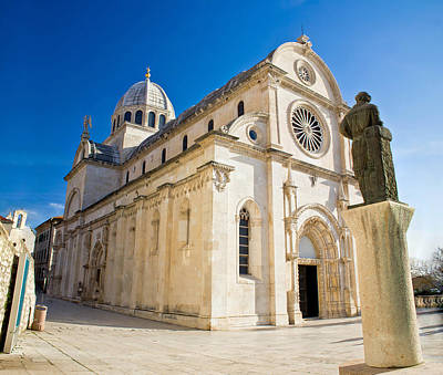Photograph - The Cathedral Of St James In Sibenik by Brch Photography