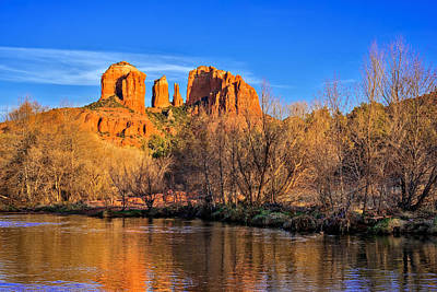 The Cathedral Rock Sunset Original
