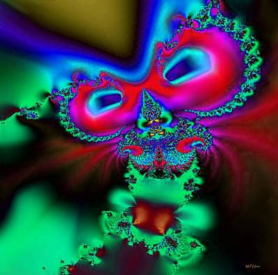 Digital Art - The Cat's Meow by Maria Urso