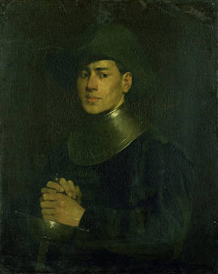 The Cavalier, Louis Mettling Art Print