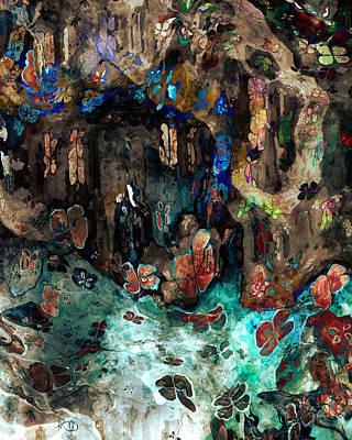 Kim Digital Art - The Cave by Kim Redd