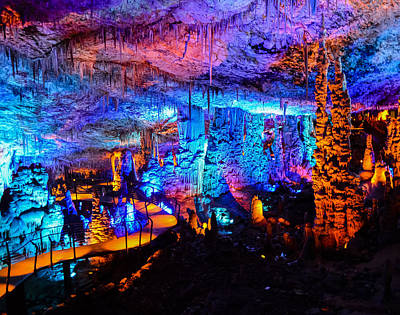 Photograph - The Cave Of Color by Alan Marlowe
