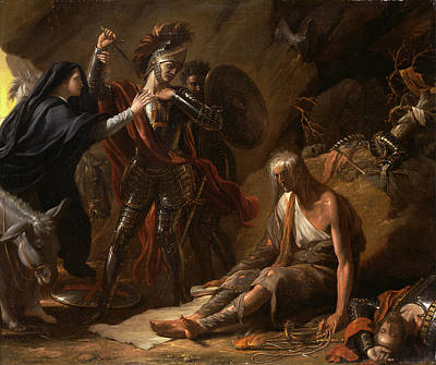 Component Painting - The Cave Of Despair Signed And Dated In Black Paint by Litz Collection