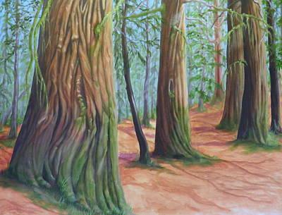 The Cedars Art Print