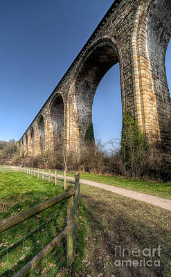 The Cefn Mawr Viaduct Art Print by Adrian Evans