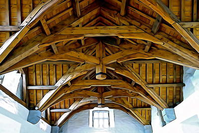 Photograph - The Ceiling by Charlie and Norma Brock