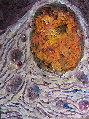 The Cell Art Print by Arun Dabholkar