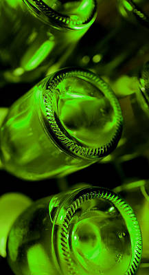 Bottles Photograph - The Cellar by Gina Dsgn