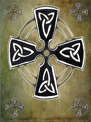 Digital Art - The Celtic Cross by Kandy Hurley