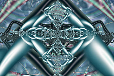 Digital Art - The Celtic Knot by Mary Almond
