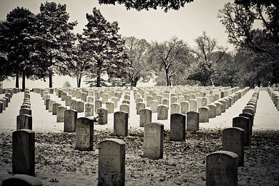 Photograph - The Cemetery by Kristy Creighton