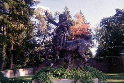 Centaur Mixed Media - The Centaur by Cynthia Hilliard