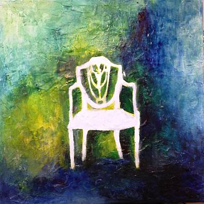 Painting - The Chair by Andrea Friedell