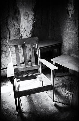 California History Photograph - The Chair by Cat Connor