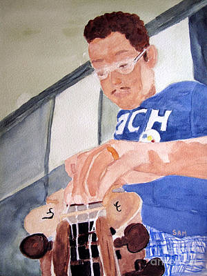 Painting - The Champ by Sandy McIntire