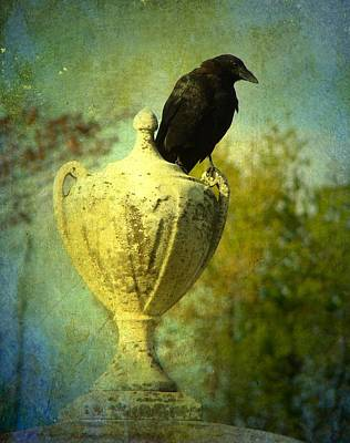 Corvid Digital Art - The Champion by Gothicolors Donna Snyder