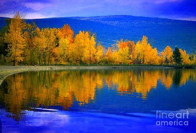 Okanagan Lake Photograph - The Change by Tara Turner