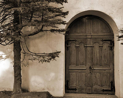 Photograph - The Chapel Door by Kirt Tisdale