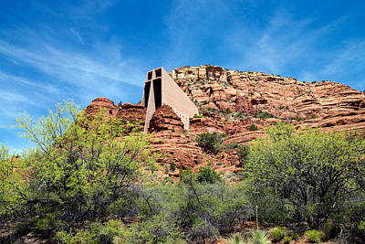 Photograph - The Chapel Of The Holy Cross In Sedona by Carol M Highsmith