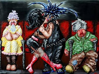 The Chaperones At The Movies Art Print